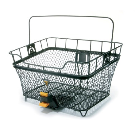 MTB The MTX rear basket from Topeak is the perfect size for shopping and other errands. - $44.95