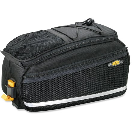 Fitness Whether you're riding a road or mountain bike, this rear, rack-mounted storage bag from Topeak is great for commuting, errands and touring. - $44.93