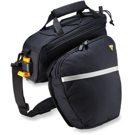 Fitness The Topeak RX Trunk DXP with panniers is a large-capacity rack trunk that is perfect for commuting, school and errands. - $79.95