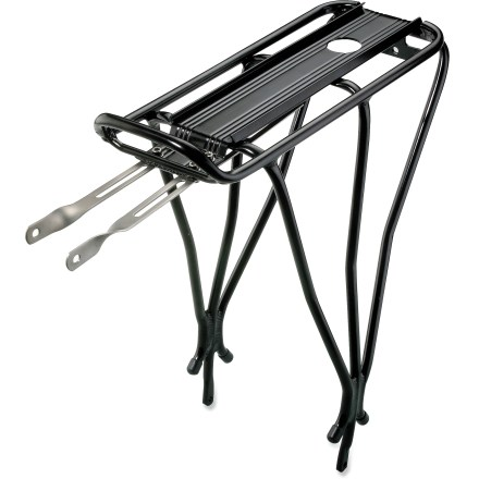 Fitness The Topeak BabySeatTM rear bike rack provides fast, easy mounting of your Topeak BabySeat (not included) without any tools. - $32.93
