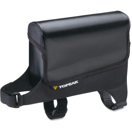 Fitness Topeak Tri DryBag delivers waterproof protection for riding goodies and mounts conveniently on the top tube for easy access while riding. - $29.95
