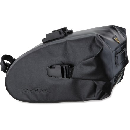 Fitness The Topeak Wedge DryBag saddle pack offers excellent protection for your riding essentials, thanks to its waterproof construction and roll closure. - $47.95