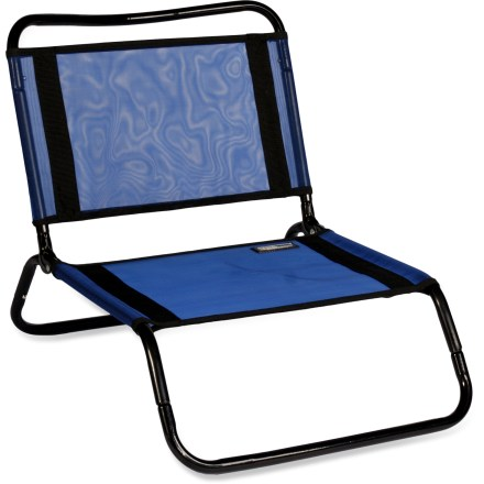 Camp and Hike Perfect for the beach, campground, sporting events and outdoor concerts, the TravelChair Original Mesh travel chair is totally portable so you can have a comfortable, sturdy seat anywhere you go. - $18.93