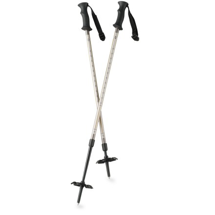 Camp and Hike The Tubbs 2-Piece snowshoe poles improve balance and reduce fatigue as you navigate the winter wonderland. - $44.95