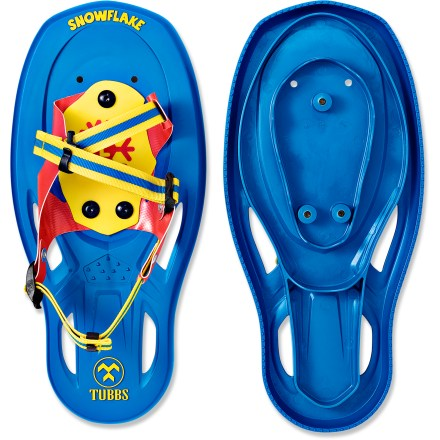 The Tubbs Snowflake snowshoes are perfect for introducing young kids to snowshoeing. they feature an easy-to-use binding, sure traction and lasting construction. - $31.93
