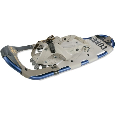 Camp and Hike These Tubbs Frontier 25 snowshoes are great for families and first-time snowshoers alike, offering ease-of-use and great flotation for checking out local trails with packed snow. - $127.93