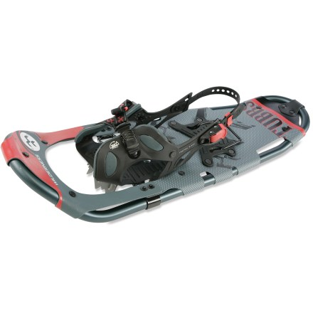 Camp and Hike Explore winter wonderlands with the Tubbs Wilderness 30 snowshoes, offering just the right traction and ergonomics for snowy day hikes on rolling terrain. - $139.93