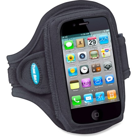 Fitness The lightweight and comfortable Tune Belt armband lets you conveniently carry your Apple iPhone or other electronic device while you run or work out. - $12.93