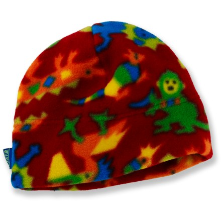 Ski This soft, fuzzy beanie from Turtle Fur will cradle a child's cranium in cozy warmth and comfort. 2 layers of plush Polartec(R) Classic 200 polyester fleece traps warmth and offer itch-free comfort against the skin. Special buy. - $4.93