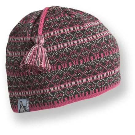 Entertainment Take a stroll through a winter wonderland the warm Turtle Fur Franz hat. Merino wool/acrylic exterior is lined with lightweight polyester fleece. - $32.00