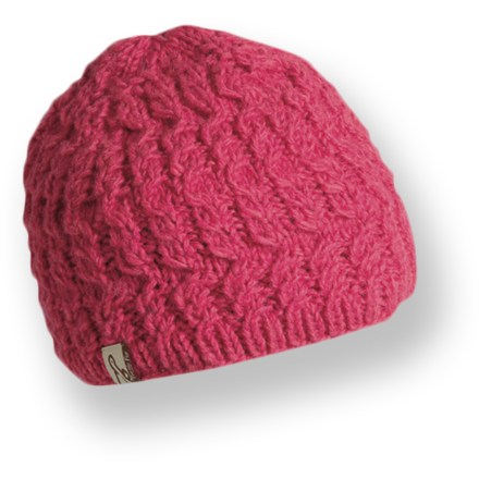 Entertainment The Turtle Fur Mika hat is hand-knit in Nepal and features a wool exterior that is lined with soft polyester fleece. Warm combination of wool and polyester fleece keeps you comfortable on cold days. - $15.93