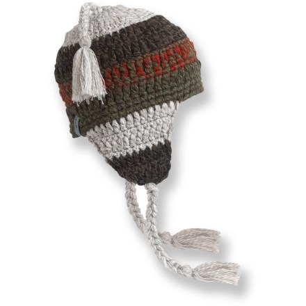 Entertainment Carve your snowboard down the slope or cruise around town with the stylish, hand-crocheted Turtle Fur Joe Seafus hat. Acrylic/wool exterior is fully lined with soft polyester fleece for excellent warmth and comfort. - $32.00