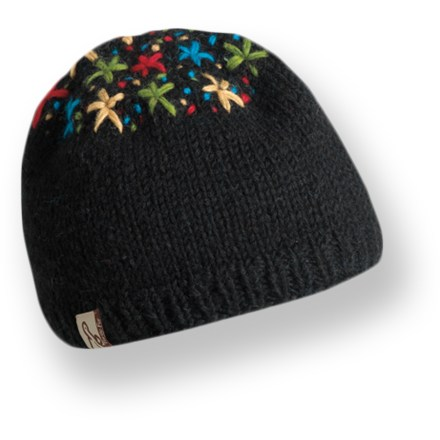 Entertainment Hand-knit in Nepal, th Turtle Fur Isha hat adds a splash of color to your winter attire. Warm wool exterior is lined with soft polyester fleece for great comfort. - $15.93