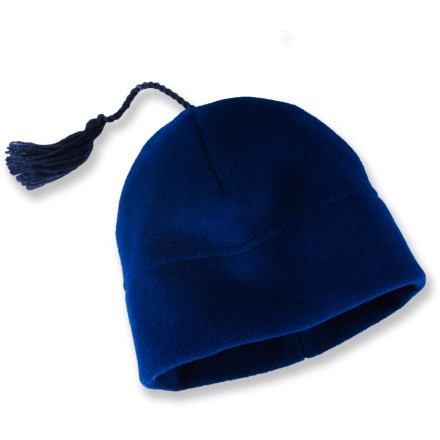 Ski The Turtle Fur Chelonia 200 Tassel beanie is a great choice for cold-weather wear. Tecnofleece offers exceptional warmth and softness. Tassel on top adds pleasant style. Special buy. - $4.83