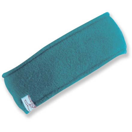 Ski The Turtle Fur Turtle Band headband is just enough coverage so you don't overheat. It keeps your ears warm and leaves your head free to let off steam. Acrylic fleece is an efficient insulator that still works when damp. Special buy. - $3.83