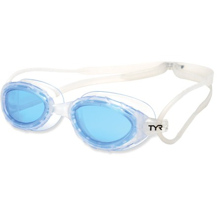 Fitness The TYR Nest Pro high-performance goggle's design was inspired by Beijing's Bird Nest stadium design-they nest gently around the eyes. - $20.00