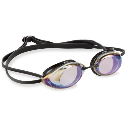Fitness The TYR Tracer Racing metallized swim goggles bring your training goals into focus with startling clarity. - $10.93