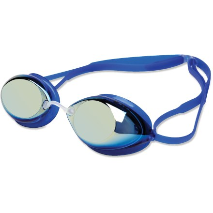 Fitness The TYR Tracer Femme Racing metallized swim goggles bring your training goals into focus with startling clarity. - $13.93