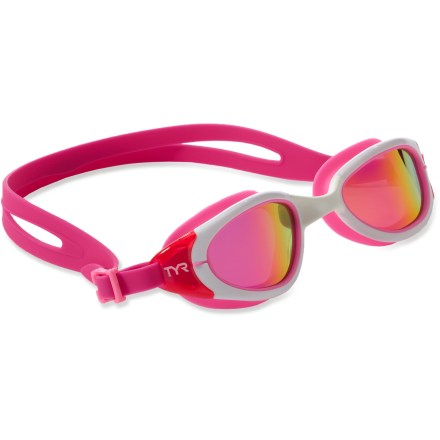 Fitness The TYR Pink Special Ops Swim goggles offer a comfortable, secure fit to open-water swimmers and triathletes. - $24.93