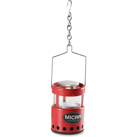 Camp and Hike Picture yourself in the wilderness with the moon overhead and the warm glow of a candle lighting your campsite. Make this a reality with the compact Uco Micro candle lantern. - $13.95