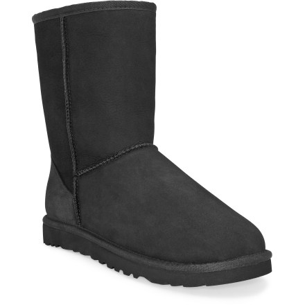 A long-time favorite of surfers and skiers alike, the UGG Classic Short boots offer sublime comfort in both warm and cold climates. - $107.93