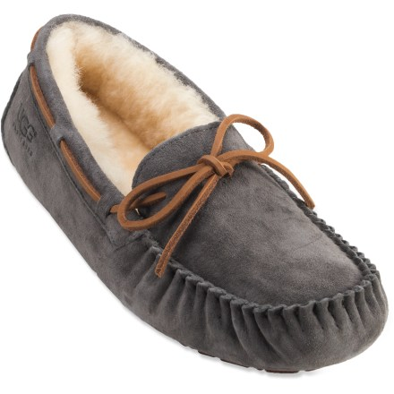 Entertainment UGG Dakota slippers pamper your feet with the ultimate in cozy comfort. - $49.93