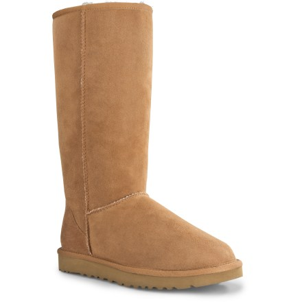 The UGG Classic Tall Boots offer enduring style while supplying plush comfort, cozy warmth, and everyday functionality. - $99.83