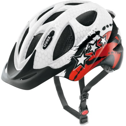 Fitness The uvex Hero helmet outfits kids for extreme adventures. - $13.73