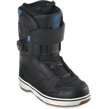 Snowboard Strap on the Vans Matlock snowboard boots and dial up the ultimate in freestyle versatility. Powerful top cuff closures and Boa(R) lacing from insteps down give quick and easy zonal adjustability. - $92.83