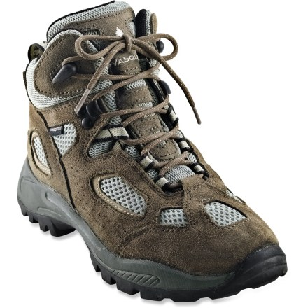 Camp and Hike For day hikes or backyard fort building, Vasque Breeze boots for kids provide support and traction with the breathability of cross-training shoes. - $16.83