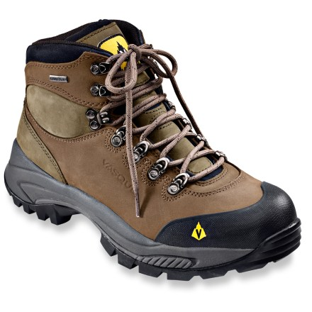 Camp and Hike These waterproof midweight hiking boots from Vasque are spry, supportive and comfortable thanks to Strobel construction and polyurethane midsoles. - $91.83