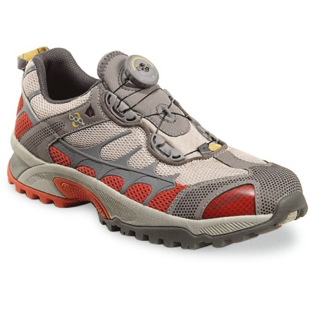 Fitness Vasque Aether Tech Boa trail-running shoes allow you to hit the trails as fast as can be, thanks to the quick lacing system and great fit. - $61.73