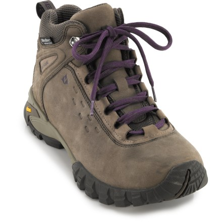 Camp and Hike The Vasque Talus WP hiking boots offer classic style with modern performance, support and light weight, plus waterproof protection, for comfort on the trail. - $165.00