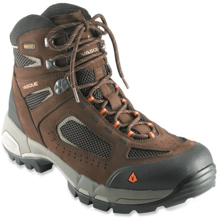 Camp and Hike The Vasque Breeze 2.0 Mid GTX hiking boots breeze through the miles, thanks to Gore-Tex(R) protection and a nimble, supportive design. - $126.93