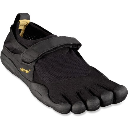 Fitness Wander free in the men's Vibram FiveFingers KSO multisport shoes, which offer the freedom of bare feet with the grip and protection of a Vibram sole. - $20.83