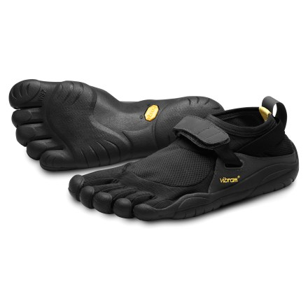 Fitness The Vibram FiveFingers KSO women's multisport shoes provide the freedom of bare feet with the grip and protection of a Vibram sole. - $39.83