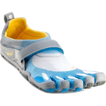 Fitness Embrace the freedom of barefoot running in the Vibram FiveFingers Bikila running shoes featuring grippy, flexible Vibram rubber soles and a secure, lightweight fit. - $44.83
