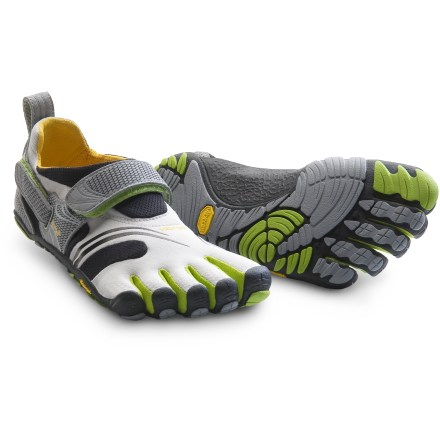 Fitness Made for running and fitness, the Vibram FiveFingers KMD Sport multisport shoes supply traction, support and a snug, custom fit. - $54.83