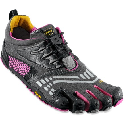Fitness From track to gym floor, the women's Vibram FiveFingers KMD Sport LS multisport shoes offer a snug, comfortable fit, easily adjusted by a quick-lace system. - $54.83