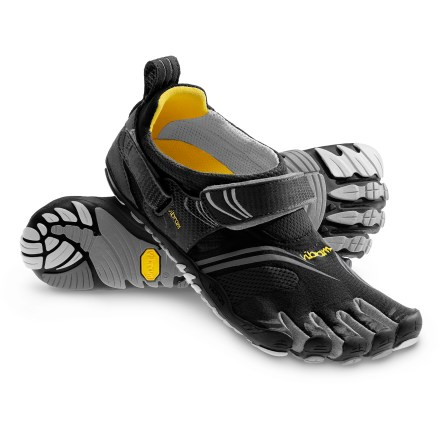 Fitness Designed for cross-training, the FiveFingers KMD Sport multisport shoes take the popular KSO and introduce a friction-reducing footbed to enhance comfort. - $54.83