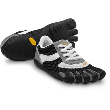 These boys' Vibram FiveFingers Speed shoes offer minimalist performance with casual style and everyday versatility. - $15.83