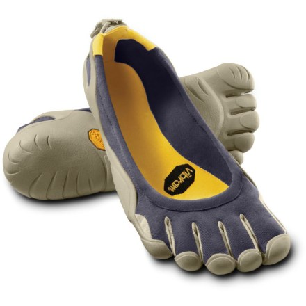 Fitness The Vibram FiveFingers Classic multisport shoes for women offer barefoot freedom in outdoor activities while protecting the soles of your feet with a thin Vibram(TM) sole. - $32.73