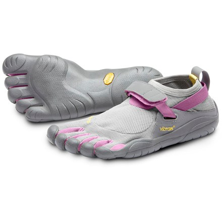 Fitness The Vibram FiveFingers KSO women's multisport shoes provide a minimalist fit with the grip and protection of a Vibram(TM) sole. - $19.73