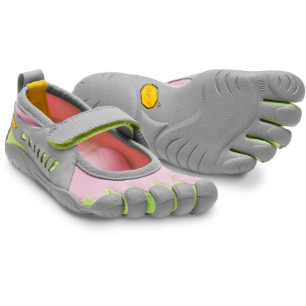 Fitness The girls' Vibram FiveFingers Sprint shoes sport the same lightweight, open design that has made the adult version a favorite. - $12.83