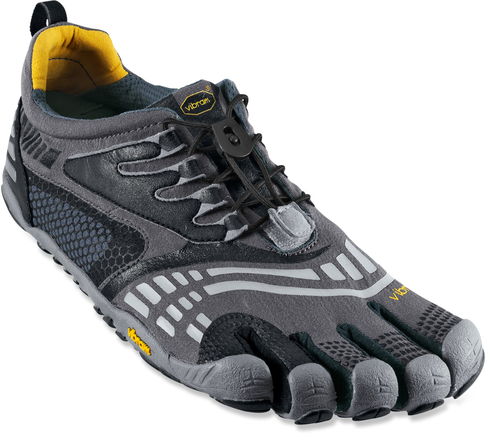 Fitness The Vibram FiveFingers KMD Sport LS multisport shoes boast a quick-lace setup for a snug, comfortable fit when running or doing tough fitness training sessions. - $54.83