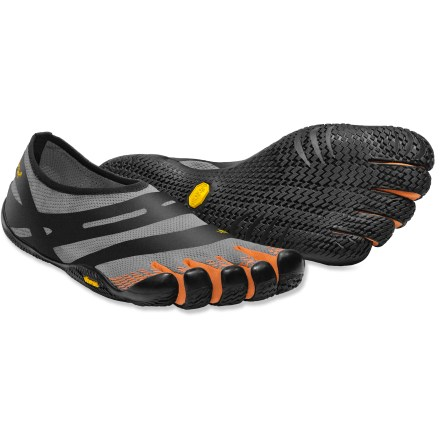 Fitness The light and flexible Vibram FiveFingers EL-X multisport shoes boast a slim minimalist design for casual or low-impact, multisport wear. - $80.00