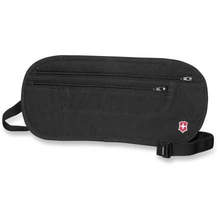 Entertainment The Victorinox Deluxe Concealed security belt keeps your valuables close and concealed for worry-free transport while traveling. - $10.93