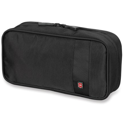 Entertainment Victorinox Overnight Essentials toiletry kit lets you pack the comforts of home into a convenient, smartly designed tote that carries the basics. - $34.00