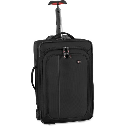Entertainment The Victorinox WT 4.0 Ultra-Light Carry-On wheeled luggage is the perfect choice for quick getaways near and far. - $211.73