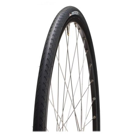 Fitness A great price for a great tire! Thanks to a new tread pattern, the Vittoria Zaffiro Pro II provides solid grip in wet conditions. - $25.93